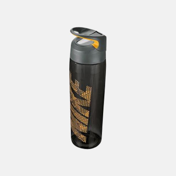 Anthracite/Laser Orange (710 ml) Vattenflaskor från Nike i 2 storlekar med reklamtryck