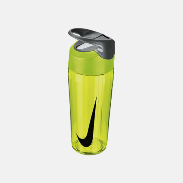 Volt/Cool Grey/Svart (473 ml) Vattenflaskor från Nike i 2 storlekar med reklamtryck