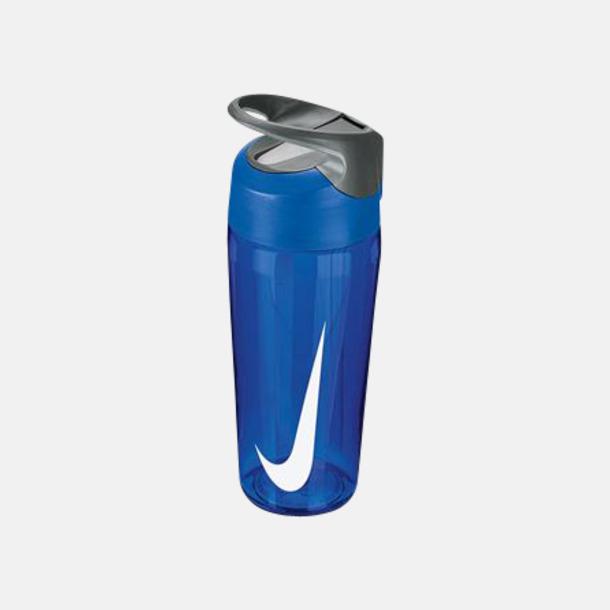 Game Royal/Cool Grey/Vit (473 ml) Vattenflaskor från Nike i 2 storlekar med reklamtryck