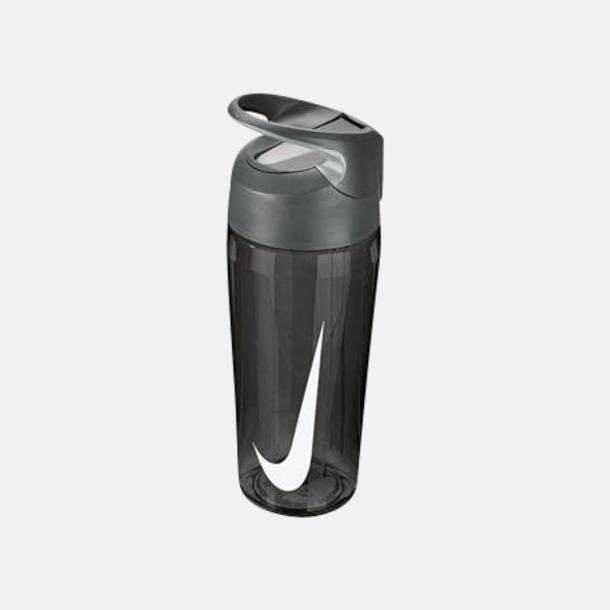 Anthracite/Cool Grey/Vit (473 ml) Vattenflaskor från Nike i 2 storlekar med reklamtryck