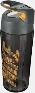 Anthracite/Laser Orange (473 ml) Vattenflaskor från Nike i 2 storlekar med reklamtryck