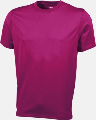 Rosa Funktions t-shirts i många färger - med reklamtryck