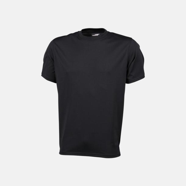 Svart Funktions t-shirts i många färger - med reklamtryck