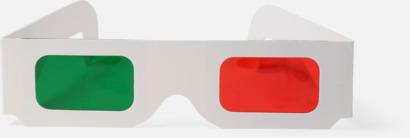 Billiga 3D-glasögon i papper med egen logga