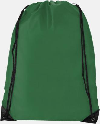 Bright Green (PMS 347C) Billiga gympapåsar med reklamtryck
