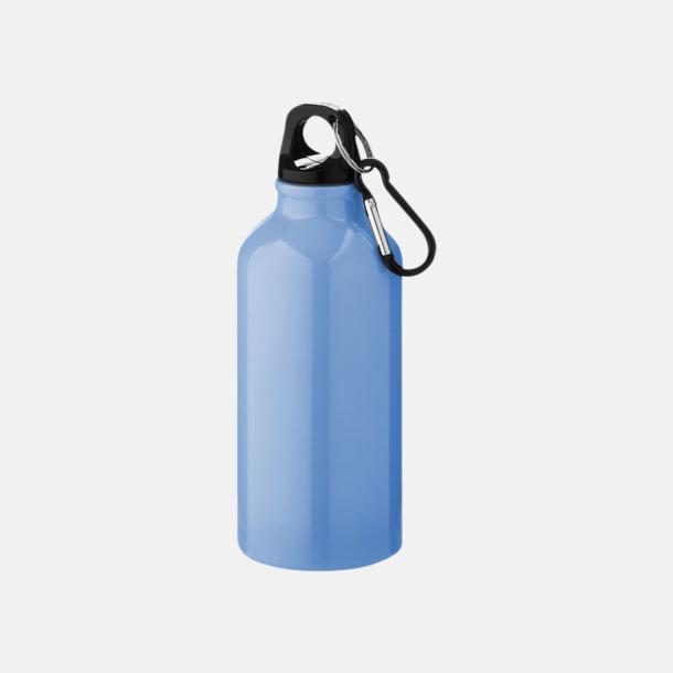Ljusblå (PMS 284C) Billig vattenflaska aluminium med egen logo