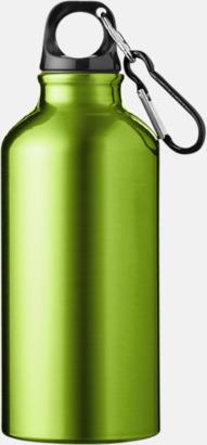 Apple Green (382C) Sportflaska i rostfritt stål med reklamtryck
