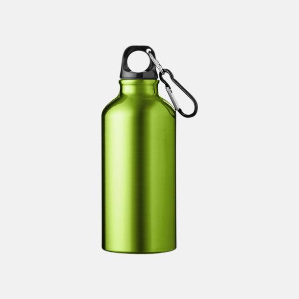 Apple Green (382C) Billig vattenflaska aluminium med egen logo