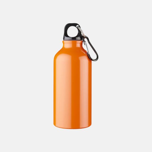 Orange Billig vattenflaska aluminium med egen logo