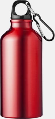 Röd (PMS 200C) Sportflaska i rostfritt stål med reklamtryck