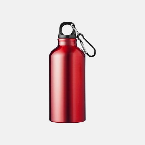 Röd (PMS 200C) Billig vattenflaska aluminium med egen logo
