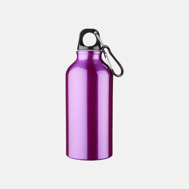Lila  Billig vattenflaska aluminium med egen logo