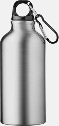 Silver Sportflaska i rostfritt stål med reklamtryck
