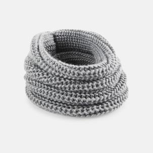 Rundstickade halsscarfs med reklamlogo