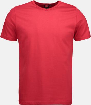 Herr t-shirts med reklamtryck