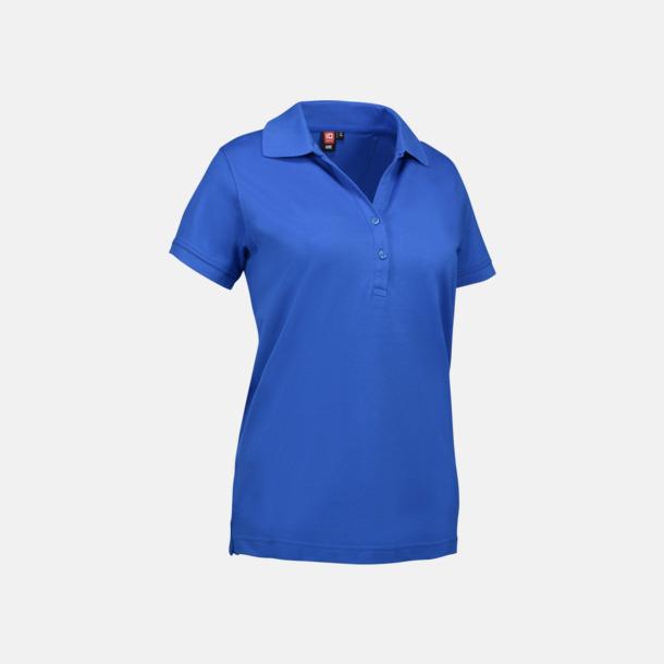 Azure (dam) Pikétröjor för herr & dam med reklamtryck