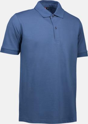 Indigo (endast herr) Pikétröjor för herr & dam med reklamtryck