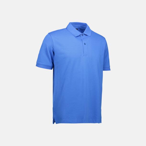 Azure (herr) Pikétröjor för herr & dam med reklamtryck