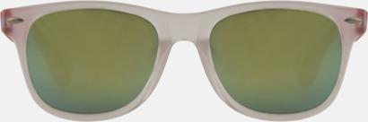 Solglasögon med spegellinser - med reklamtryck
