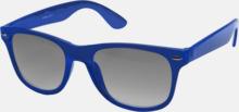Transparenta solglasögon i färg med matchande glas med eget reklamtryck
