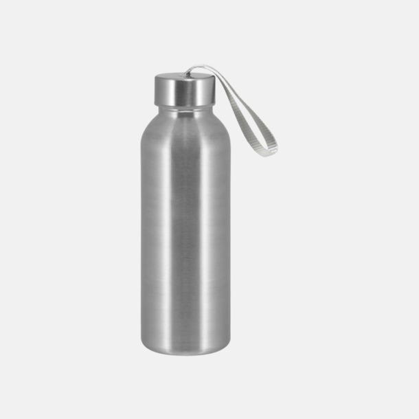 Silver Trendiga metallvattenflaskor med reklamtryck