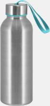 Trendiga metallvattenflaskor med reklamtryck