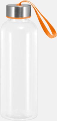 Orange Tritanflaskor med färgaccent med reklamtryck