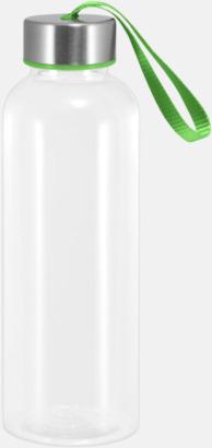 Grön Tritanflaskor med färgaccent med reklamtryck