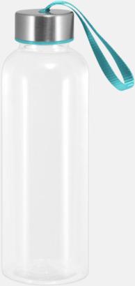 Cyan Tritanflaskor med färgaccent med reklamtryck