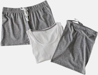 Short 2 varianter av pyjamasset i påse med reklamtryck