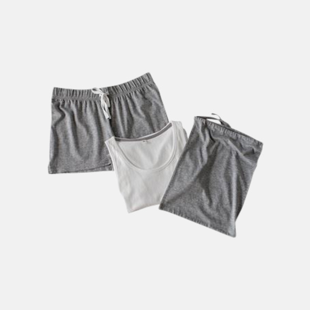 Short (endast dam) 2 varianter av pyjamasset i påse med reklamtryck