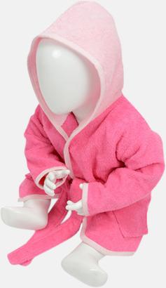 Rosa/Ljusrosa Badrockar för de allra minsta - med reklamtryck