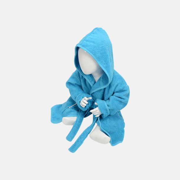 Aqua Blue Badrockar för de allra minsta - med reklamtryck