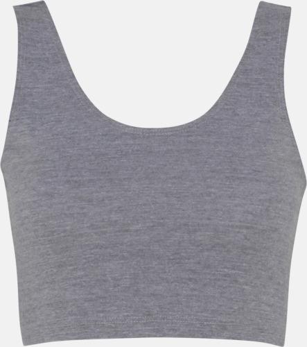Athletic Grey Korta linnen med reklamtryck