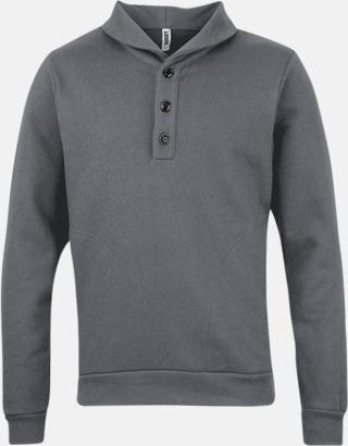 Zinc Knappförsedda sweatshirts med reklamtryck
