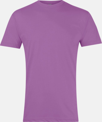 Orchid Polycotton t-shirts med reklamtryck