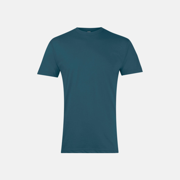 Heather Forest Polycotton t-shirts med reklamtryck