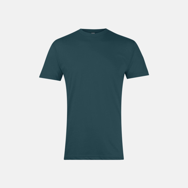 Black Aqua Polycotton t-shirts med reklamtryck