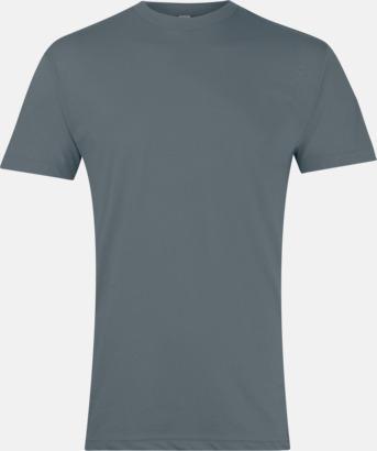 Asphalt Polycotton t-shirts med reklamtryck