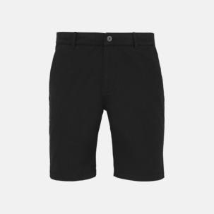 Herr- & damchino shorts med reklamtryck
