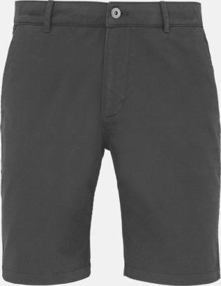 Slate (herr) Herr- & damchino shorts med reklamtryck