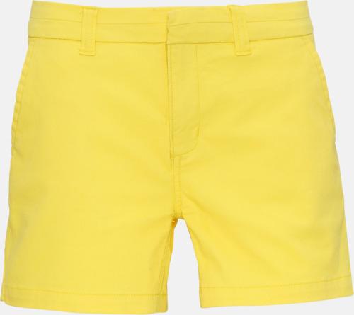 Lemon Zest (dam) Herr- & damchino shorts med reklamtryck