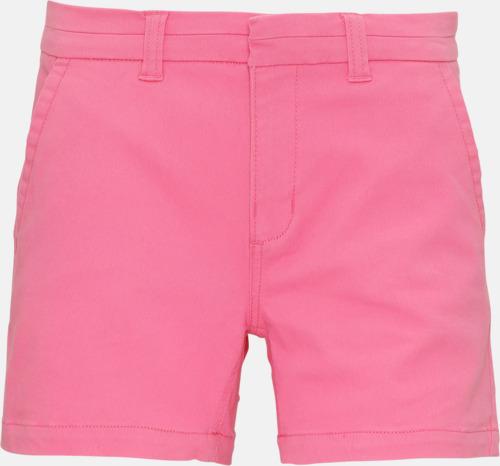 Pink Carnation (dam) Herr- & damchino shorts med reklamtryck