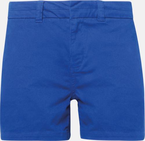 Royal (dam) Herr- & damchino shorts med reklamtryck