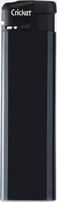 Svart (standard) Cricket Electronic Tändare i två storlekar med eget reklamtryck