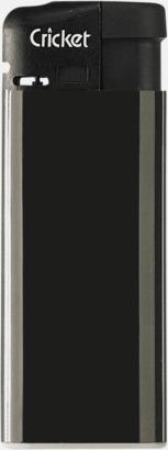 Svart (Mini) Cricket Electronic Tändare i två storlekar med eget reklamtryck