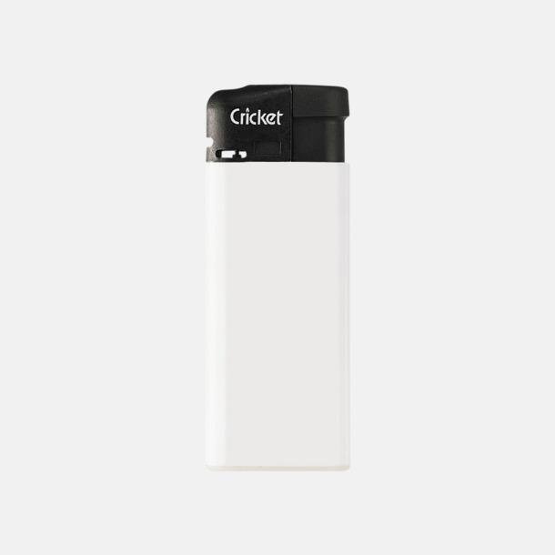 Vit (mini) Cricket Electronic Tändare i två storlekar med eget reklamtryck