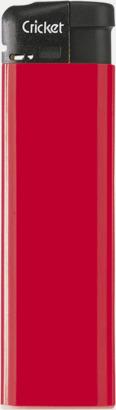 Röd (standard) Cricket Electronic Tändare i två storlekar med eget reklamtryck