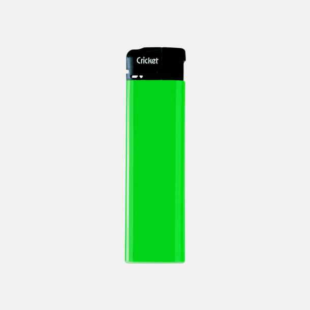 Grön (standard) Cricket Electronic Tändare i två storlekar med eget reklamtryck