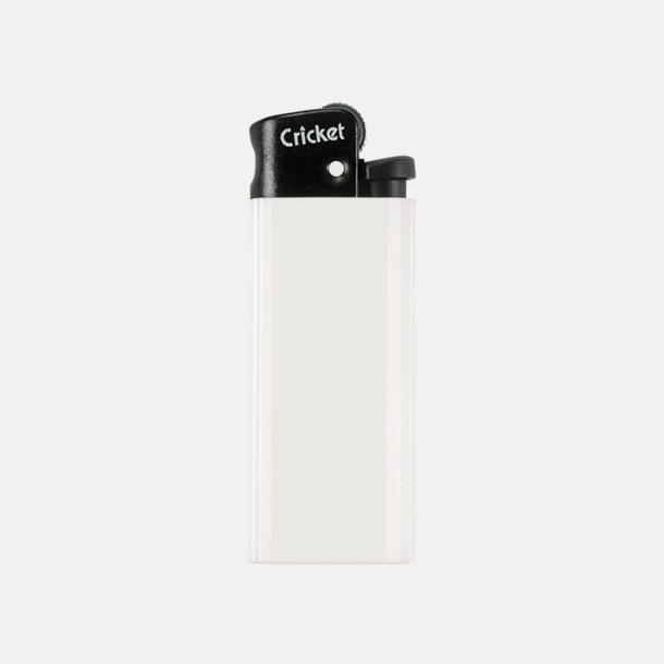 Vit Cricket Mini Tändare med eget tryck